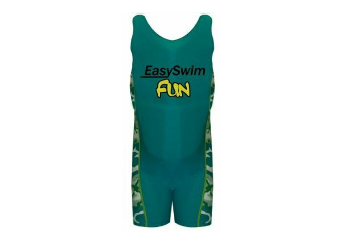 Easy Swim Children Kids Safety Swimming Suit with Built in Float 4-5 Yrs Green - 1