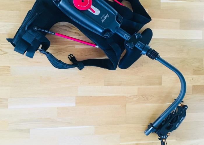 Support system similar to Easyrig (easy rig) for big cameras with Serene Arm (for use with Cameras up to 18kg)  - 1