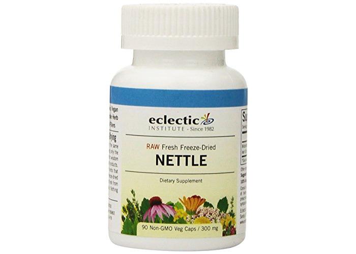 Eclectic Institute Inc Nettles Leaf, 90 Caps - 1