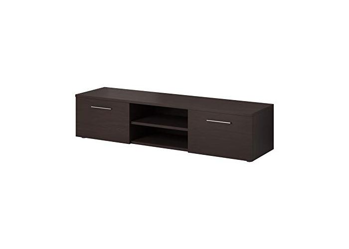 """e-Com - Floating TV Unit Cabinet Stand Sideboard""""VEGAS"""" - 150 cm - Wenge Dark Oak - 1"""