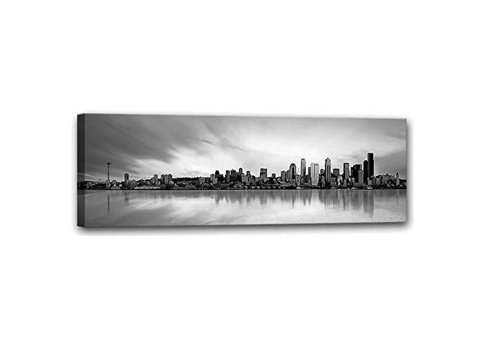 E-com Prints on Canvas (City, 45x140) - 1