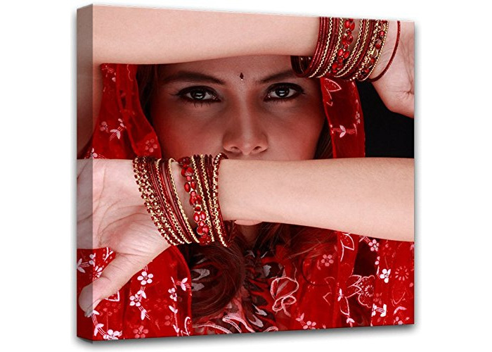 E-com Prints on Canvas (India, 100x100) - 1