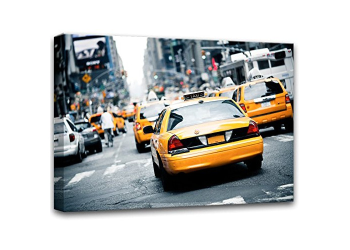 E-com Prints on Canvas (Yellow Taxi 2, 60x80) - 1