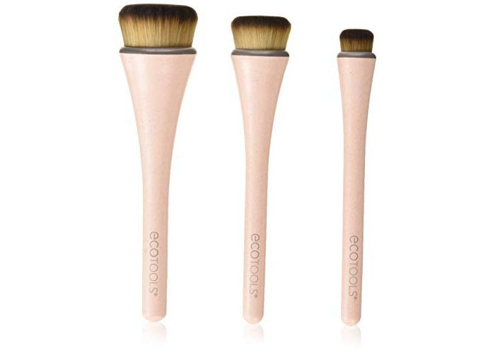 EcoTools 360 Ultimate Blender Makeup Brush, Set of 3 - 1