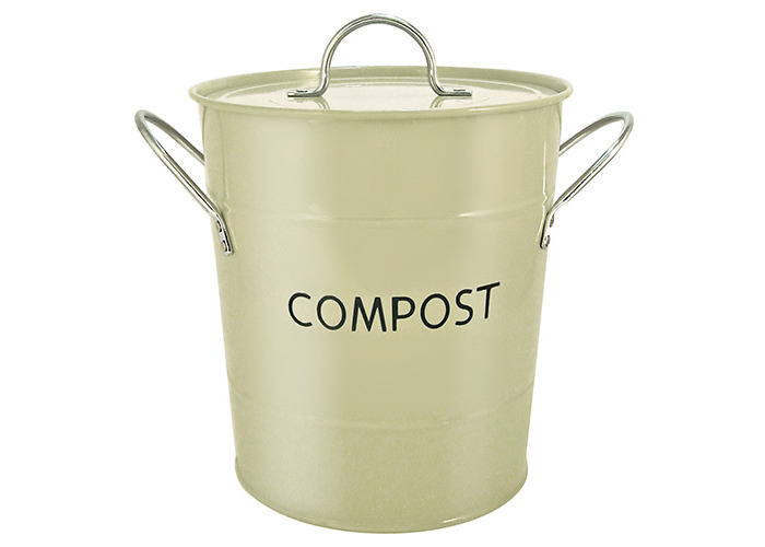 Eddingtons Compost Pail, Sage Green - 1
