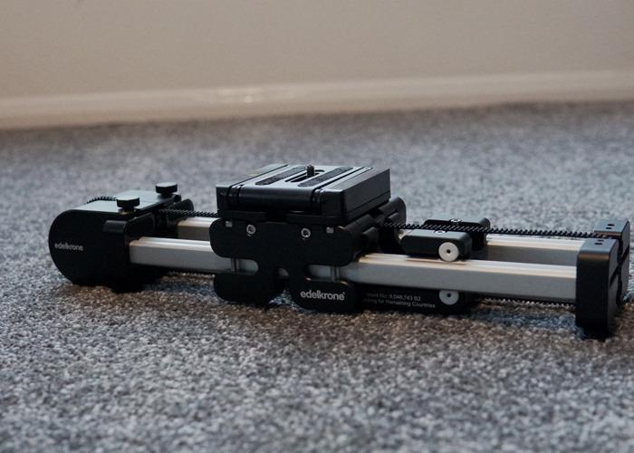 Edelkrone Slider Plus Small + Steady Module + Tilt Head - 1