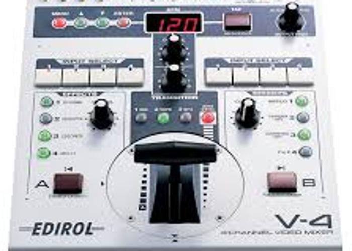 Edirol V4 Mixer - 1