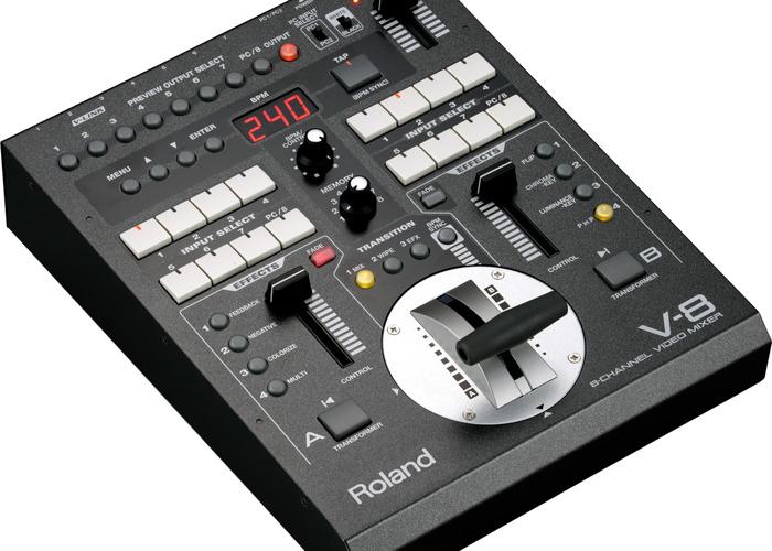 Edirol V-8 Video Mixer - 1