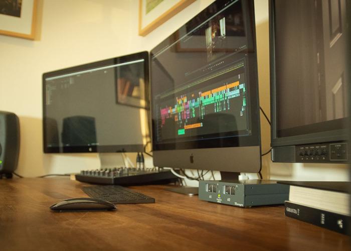Edit Suite (Avid, Premiere, or DaVinci) + Grading Monitor - 1