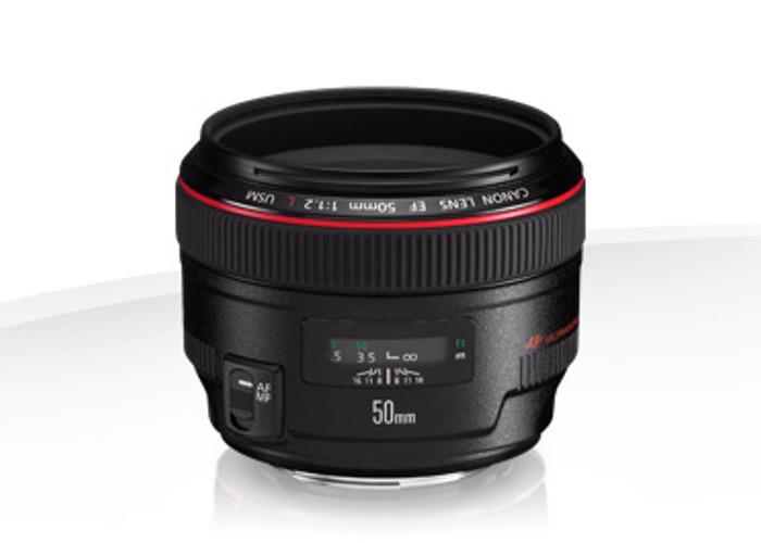 EF 50mm f/1.2L USM - 1