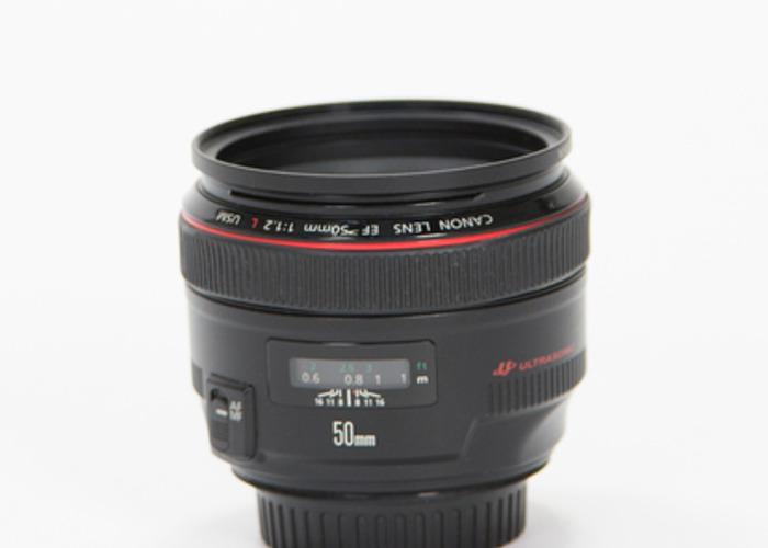 Canon 50mm f/1.2 Lens - 1