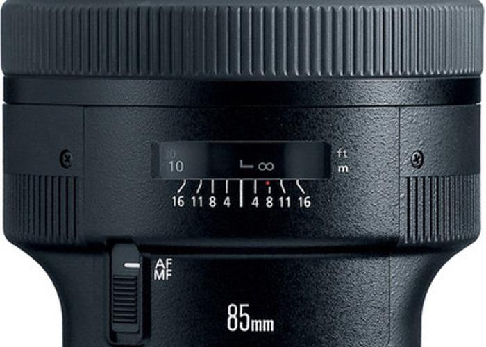 EF 85mm f/1.2L II USM - 1