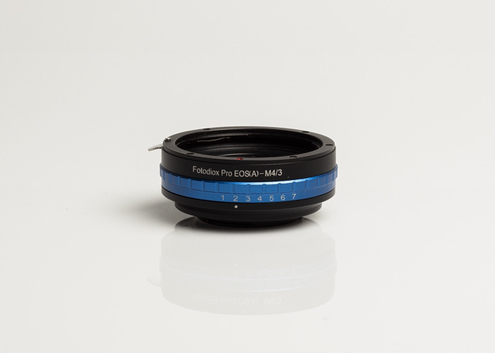 EF (EOS) to MFT Adapter with manual aperture - 1