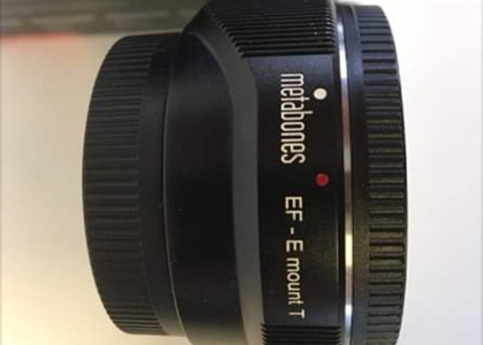 Metabones Sony E mount T to Canon EF lens  - 1