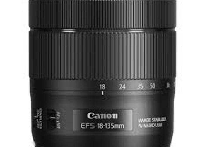 EFS 18-135mm Canon Lens - 1