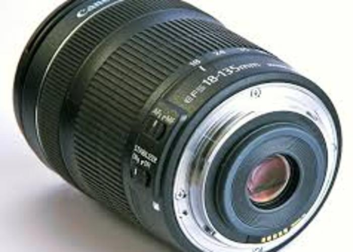 EFS 18-135mm Canon Lens - 2