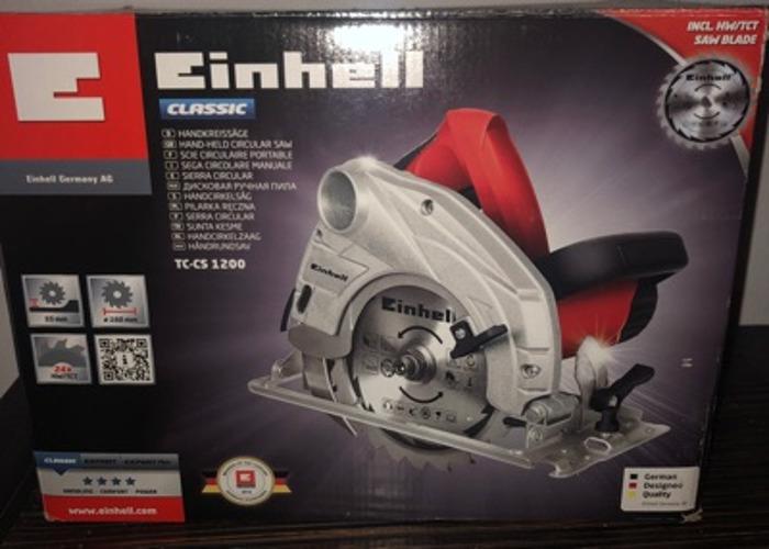 Einhell handheld circular saw - 1
