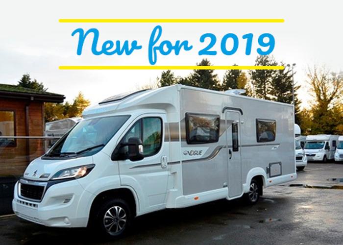 Elddis Autoquest 185 New 2019 luxury 4 berth motorhome. Know - 1