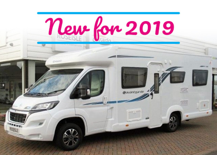 Elddis Autoquest 196. New 2019 luxury 6 berth motorhome. Kno - 1