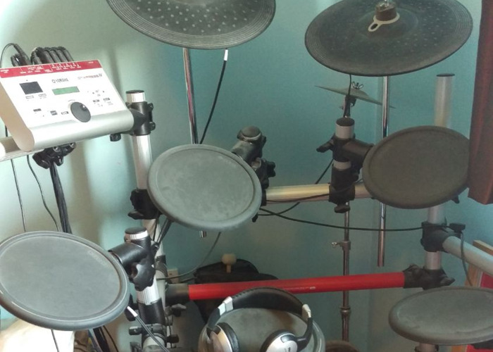 Electric drum kit - yamaha dtxpress 4 - 1