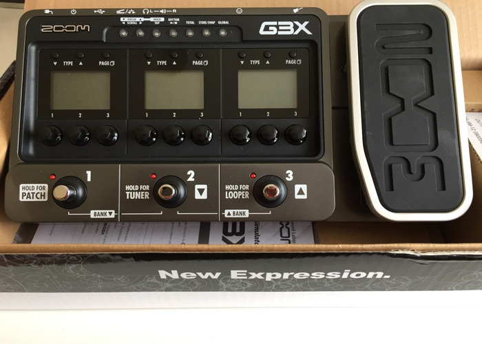 Electric guitar effect - ZOOM G3X - 1