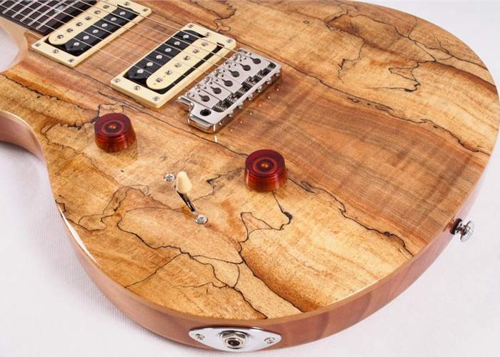 Electric Guitar, PRS, SE Custom 24 Spalted Maple,  Santana - 1
