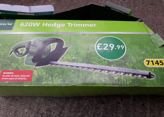 Electric hedge trimmer - 1