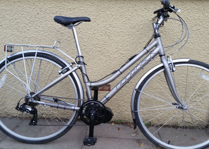 Electric Ladies Hybrid Bike - Mid Drive - 2