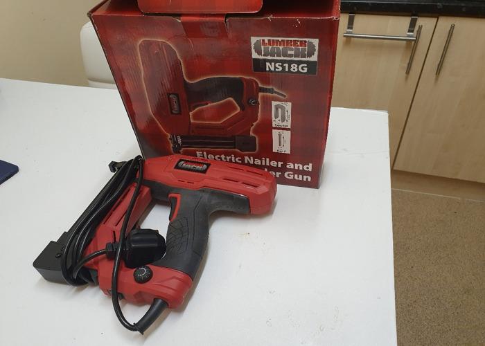 Electric Nail And Stapler Gun - 2