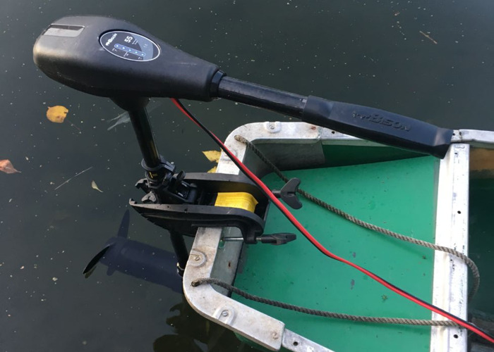 Electric Outboard Bison 55ft/lb inc. battery - 2