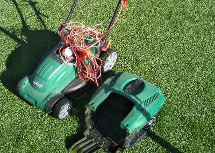 electric rotary lawn mower  - 1