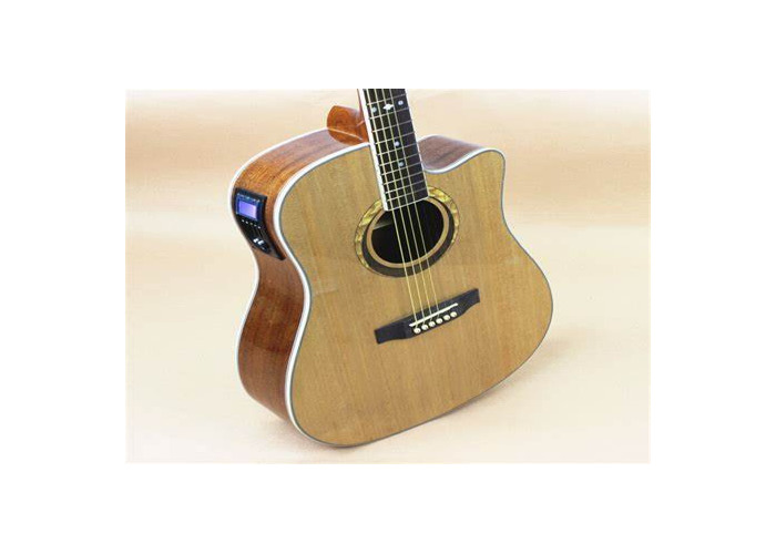 Electro-acoustic guitar. In built tuner - 1