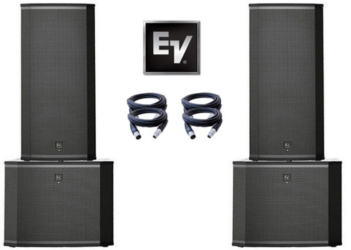 Electro-Voice ETX-35P & ETX-18SP (Full Range Package) - 1