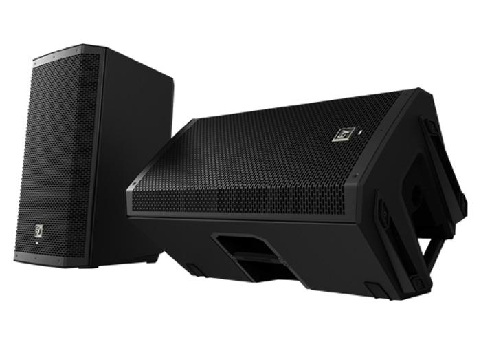 Electro-Voice ZLX-12P Active PA Speakers - 2