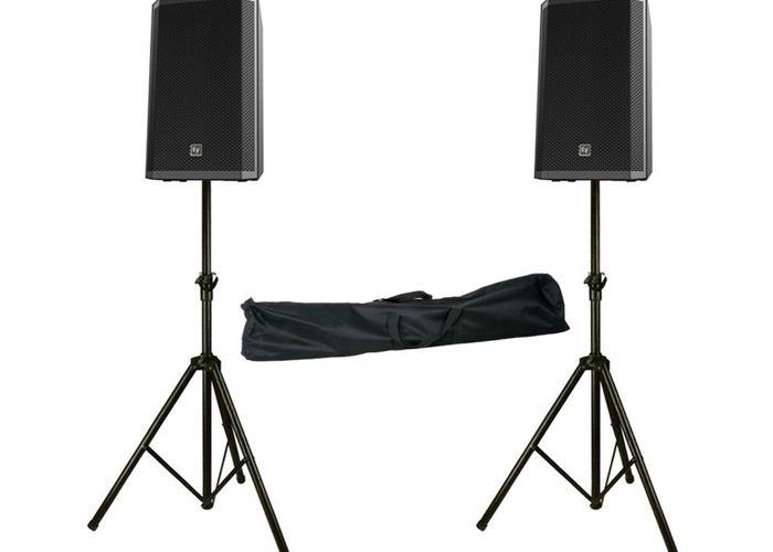Electro-Voice ZLX-12P Active PA Speakers - 1