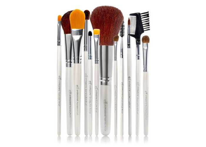 E.l.f. Cosmetics 12 Piece Brush Set - 1