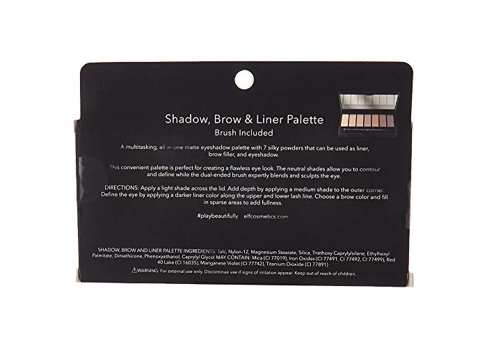 e.l.f. Endless Eyes Shadow, Brow & Liner Palette - 2