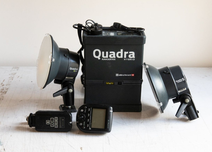 Elinchom Quadra flash kit - 2