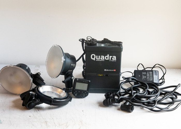 Elinchom Quadra flash kit - 1