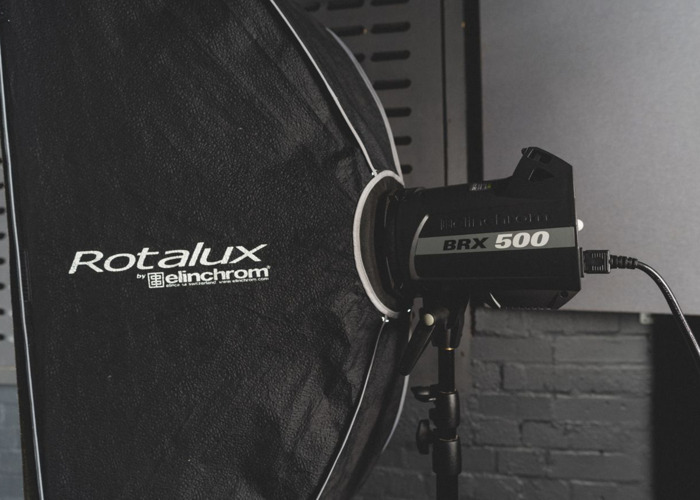 Elinchrom Studio Lighting Package - BRX500/Rotalux Softboxes - 1