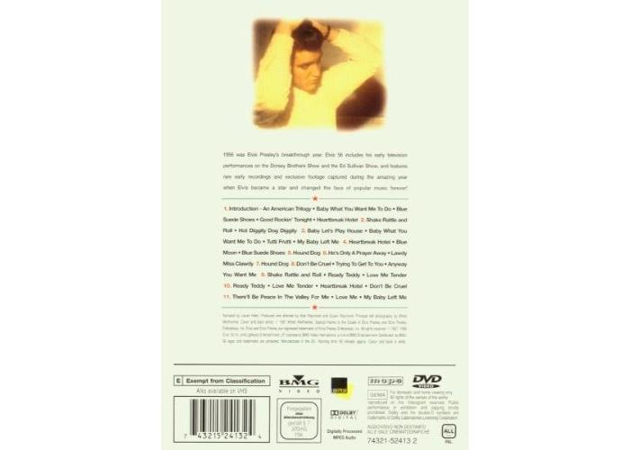 Elvis Presley: Elvis '56 [DVD] [DVD] - 2