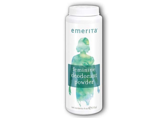 Emerita - Feminine Deodorant Powder - 4 oz. - 1