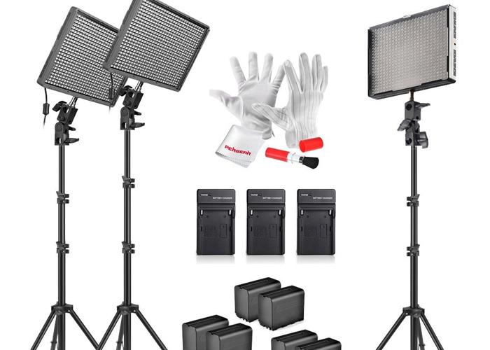 Emgreat Aputure Amaran AL528KIT 528 Led Video Light Panels - 1