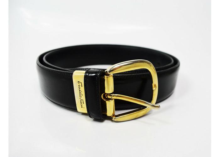 Buy Emidio Tucci Spanish Mens Leather Belt Black Size 32