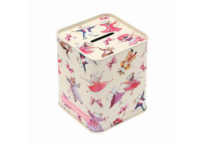 Emma Bridgewater Dancing Mice Money Box - 1
