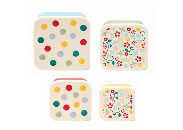 Emma Bridgewater Polka Dot Set Of 4 Snack Tubs - 1