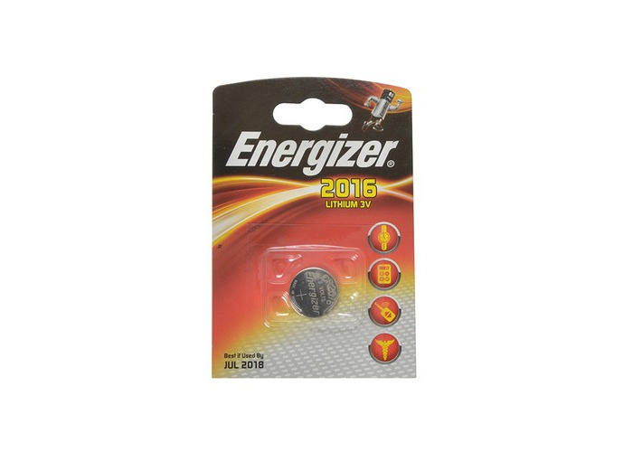 Energizer S350 CR2016 Coin Lithium Battery Single - 1