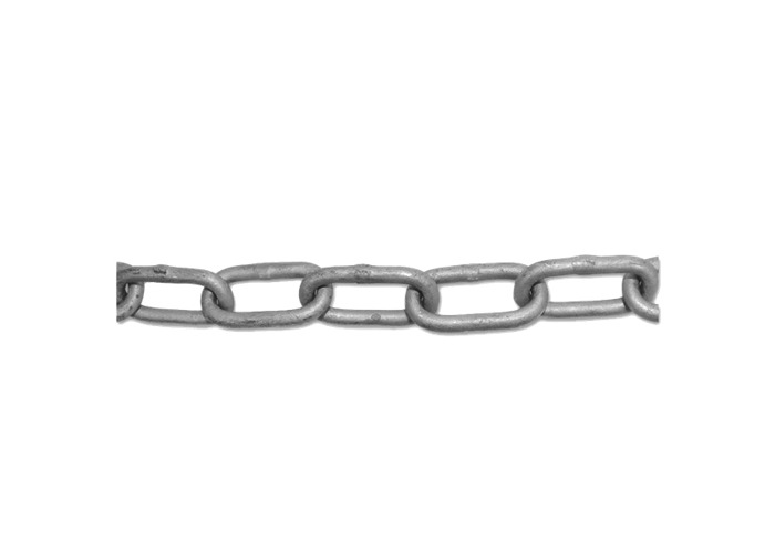 ENGLISH CHAIN Hot Galvanised Welded Steel Chain - 4mm GALV 30m - 1