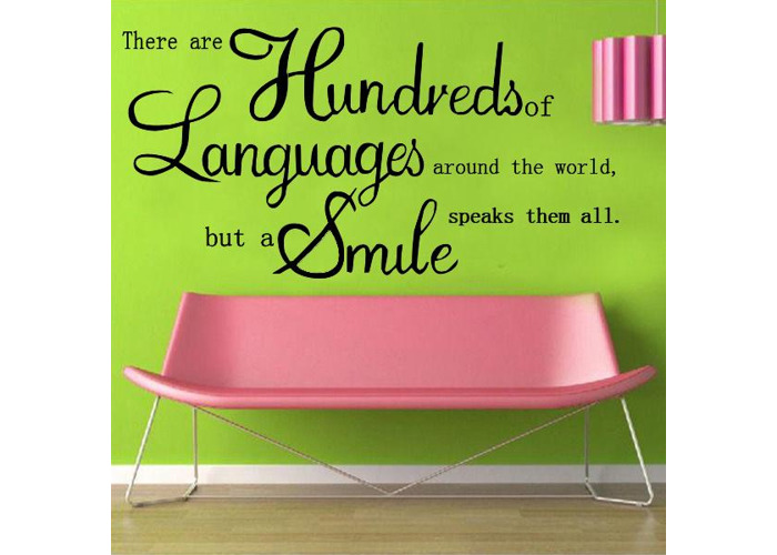 English Proverbs Wall Sticker Decal Wallpaper Home Decor - 2