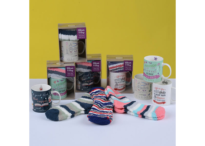 English Tableware Company A Potter in the Garden Mug & Sock Set - 2